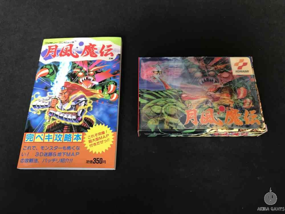 [FC] Getsu Fuuma Den + guide book