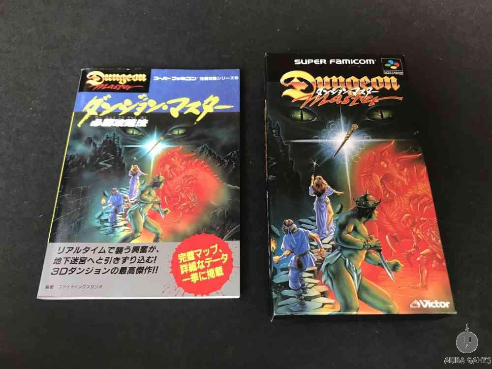 [SFC] Dungeon Master+Guide Book