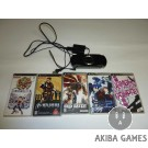 [PSP] Console Playstation Portable Black PSP-1000 System+ 5 Games Set
