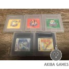 [GB] Pocket Monsters Picachu - Pokemon 5 games set Yellow Red Blue Gold Silver